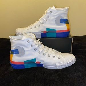 Chuck Taylor All Star High 'Space Racer' size 12